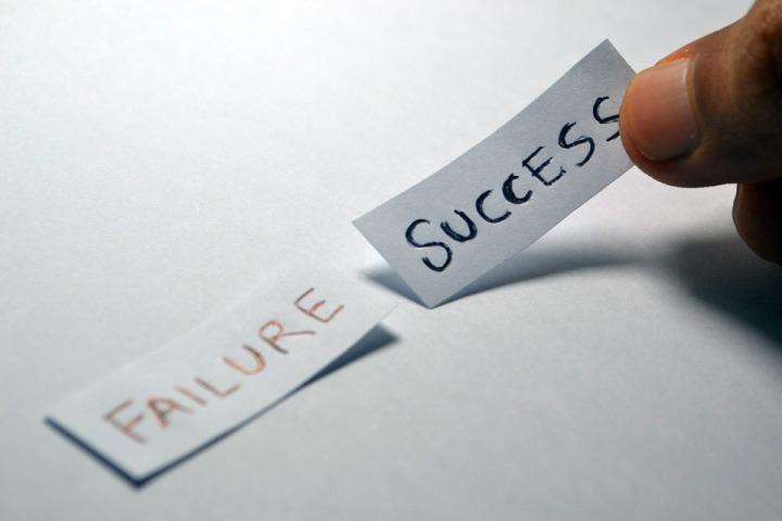 Success Opposite Decision Failure Choice Choose